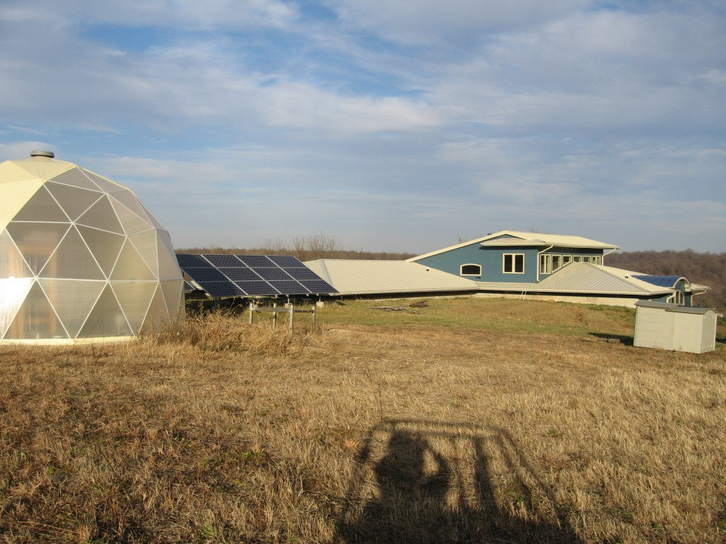 Dome solar and house